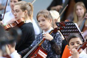 Akce dětského orchestru
